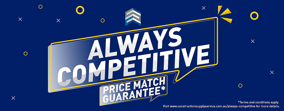 Always Competitive - Price Match Guarantee, see our full website for full terms and conditions.